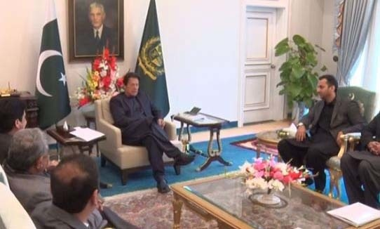 Prime Minister Imran Khan on Wednesday said that despite the difficult situation the government was trying its best to provide relief to people. — Photo courtesy Radio Pakistan