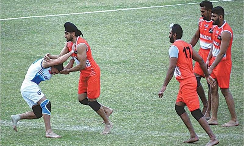 کبڈی ورلڈ کپ میں کینیڈا، ایران اور انگلینڈ کی فتح