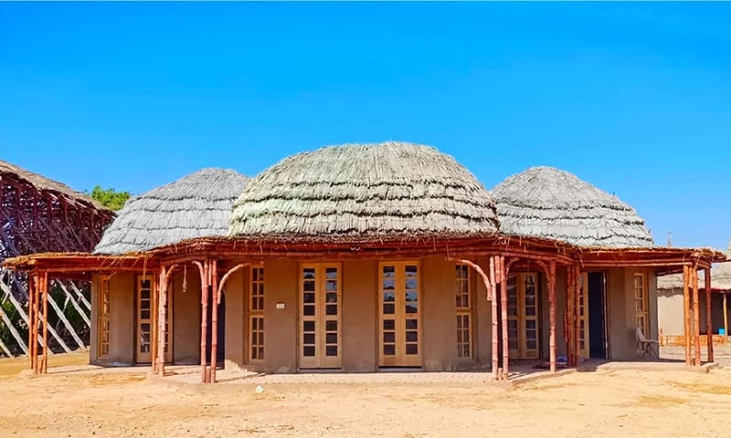 The INTBAU Centre that Lari has been instrumental in establishing. — Image courtesy Heritage Foundation of Pakistan