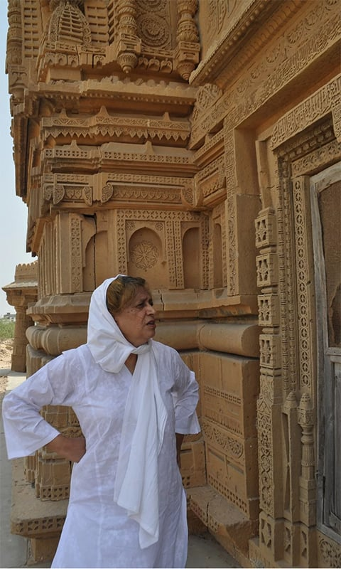 Lari at the Makli necropolis. — Image by Zofeen T. Ebrahim