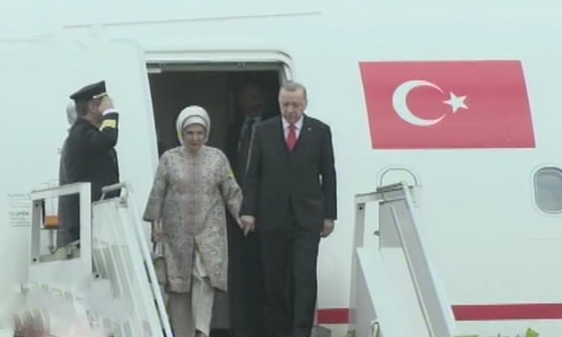 ترک صدر 14 فروری کو پارلیمان کے مشترکہ اجلاس سے خطاب کریں گے— فوٹو: ڈان نیوز