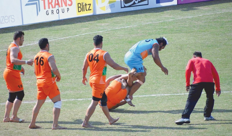 Pakistan, India cruise into Kabaddi World Cup semis