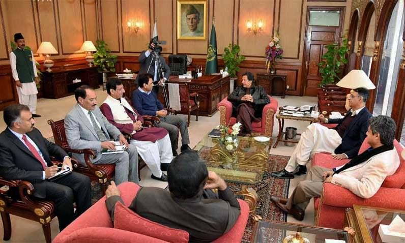 Khalid Maqbool Siddiqui refuses to return to cabinet. — PM Office/File