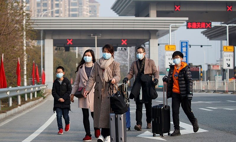 Nearly 64,000 people are now recorded as having been made ill by the virus in China. — Reuters/File
