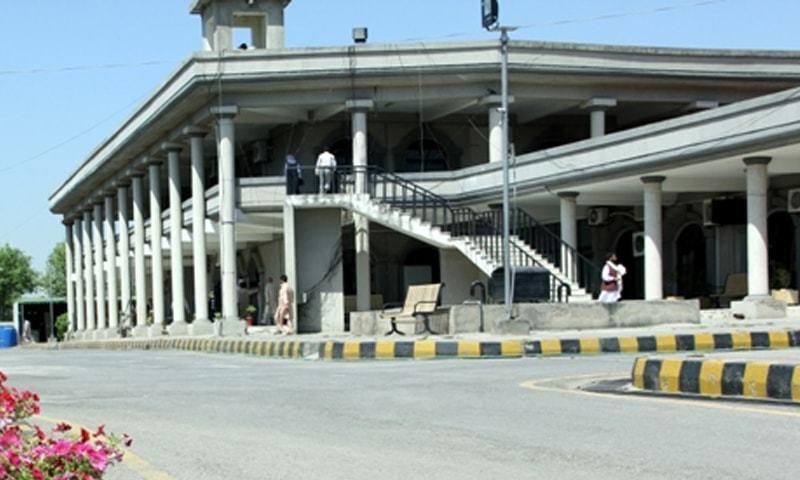 اسلام آباد ہائی کورٹ کے چیف جسٹس نے کیس کی سماعت کی—فائل فوٹو: عدالت عالیہ ویب سائٹ