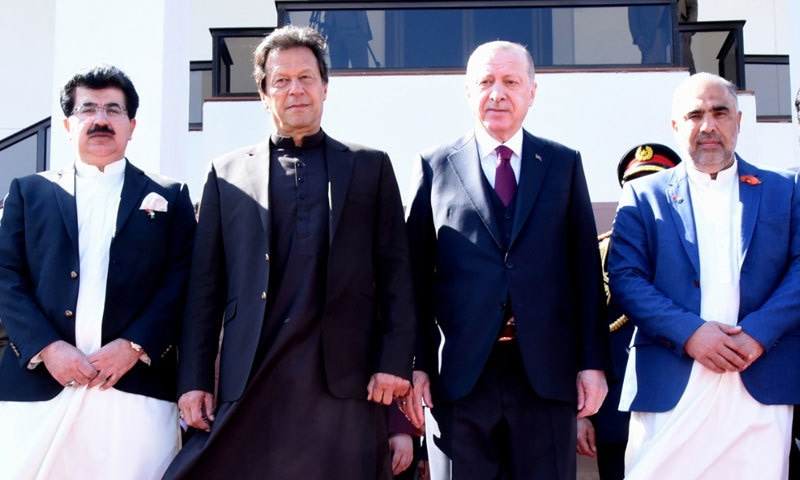 ترک صدر پاکستان کے 2 روزہ سرکاری دورے پر ہیں—فوٹو: حکومت پاکستان