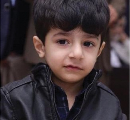 Ashar had to be left in Pakistan while the family got help for Shahryar, who has a life-threatening medical condition.