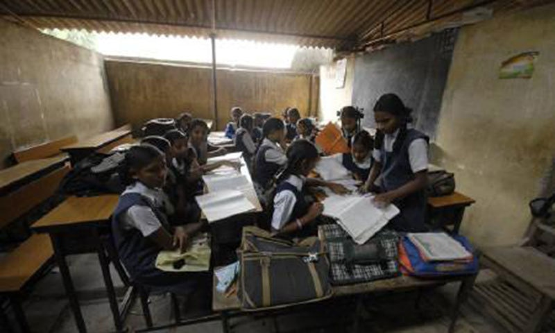 Sindh Education Minister Saeed Ghani said his department was facing a huge demand to provide the required number of teachers in more than 40,000 schools in the province. — Reuters/File