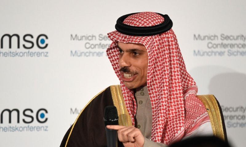 ایران کو بات چیت سے قبل اپنا رویہ تبدیل کرنا ہوگا، سعودی عرب