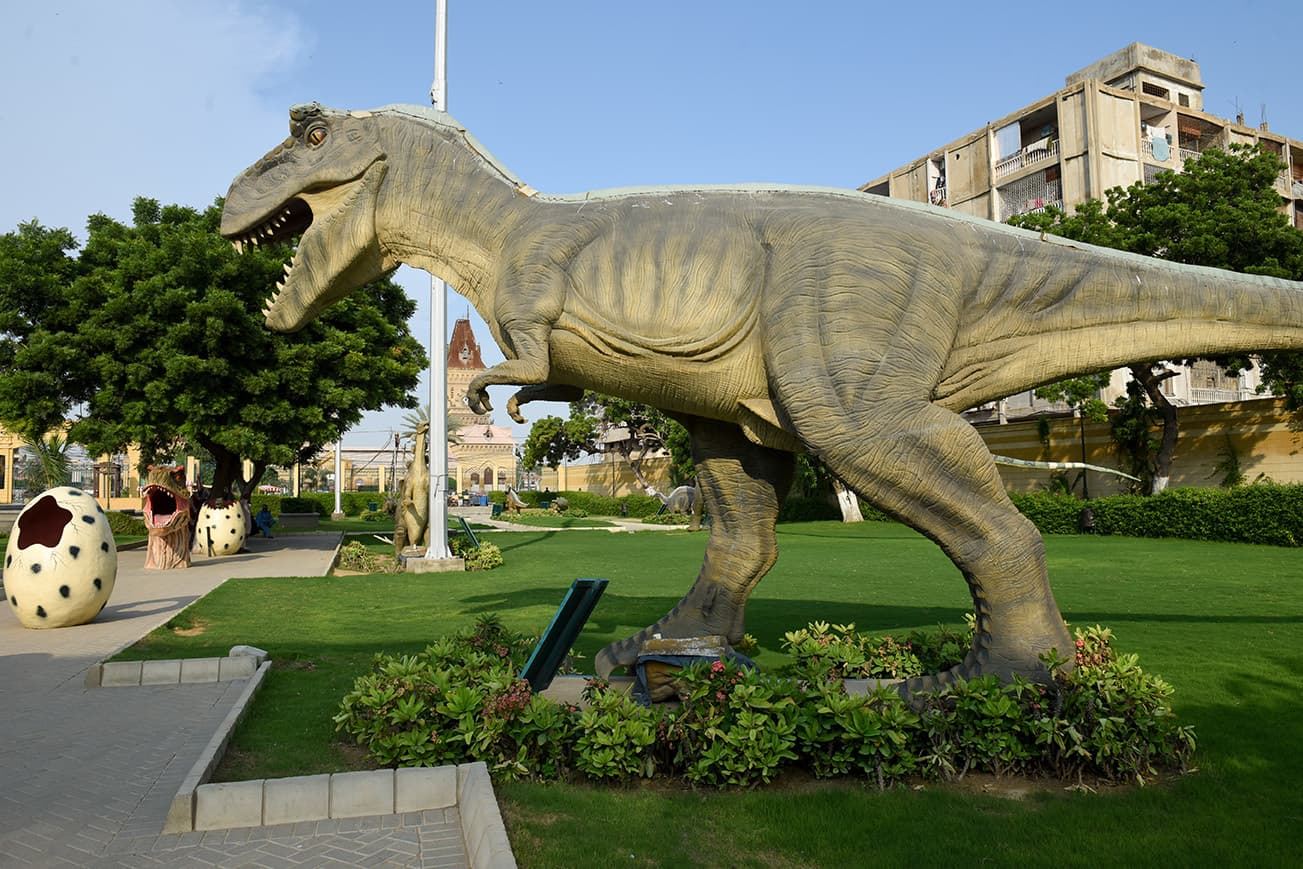 Dinosaur statues are curious fixtures in multiple parks across the city | Tahir Jamal/White Star