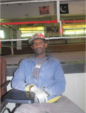 Mohammad Shahid, who works as an electrician now