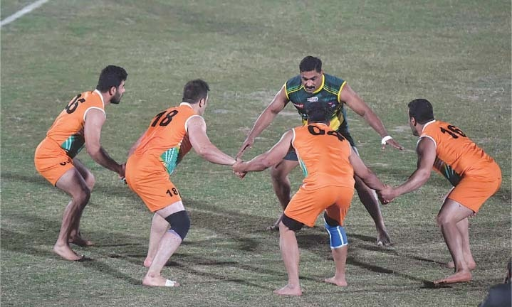 Pakistan face India in kabaddi final