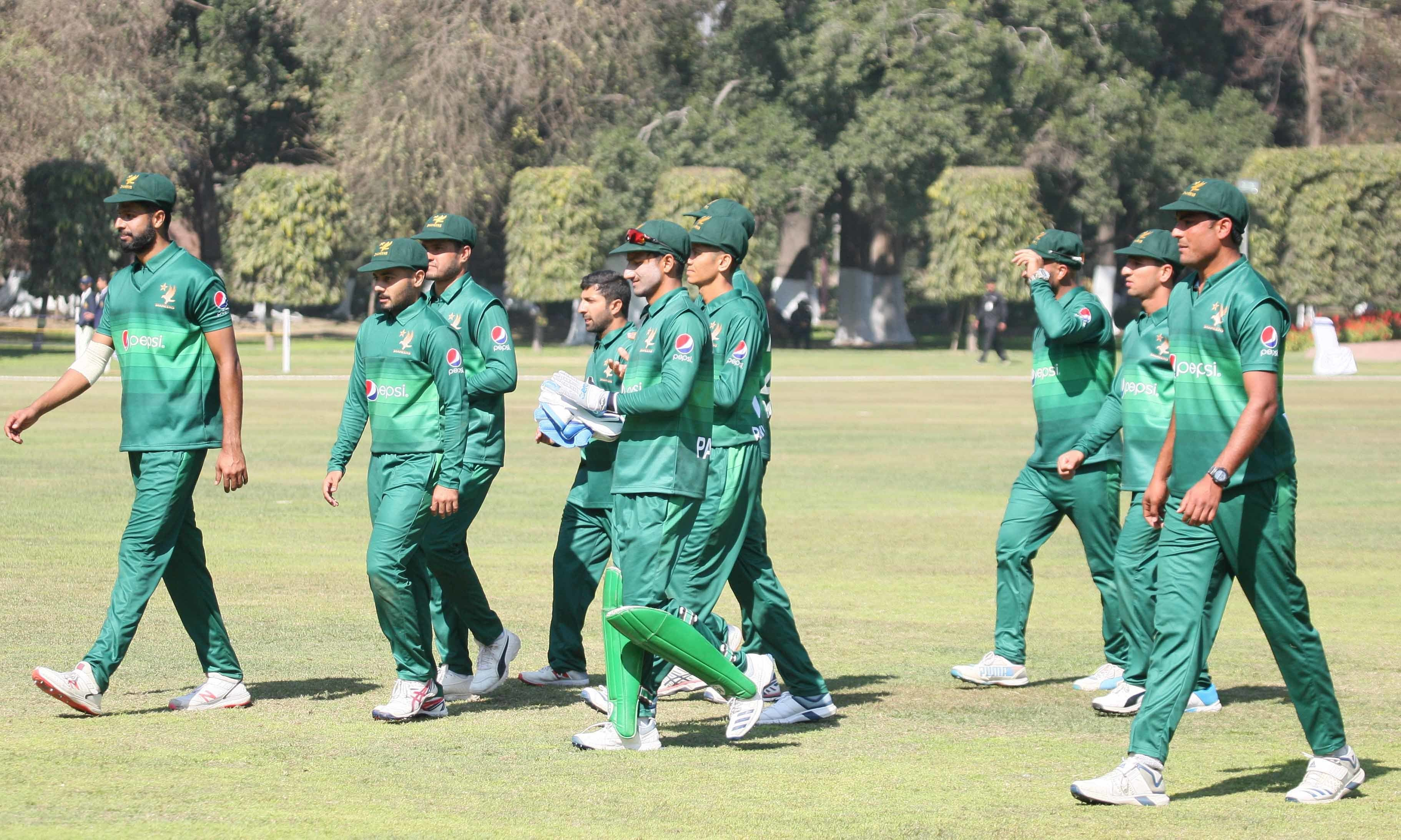 Ehsan Adil picked up six wickets for the Shaheens during Sunday's match. — Photo courtesy PCB