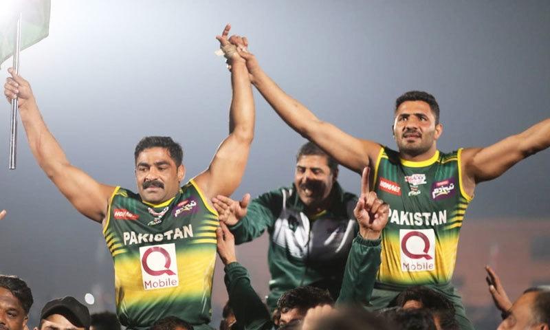 کبڈی ورلڈ کپ کا انعقاد پہلی بار پاکستان میں ہوا تھا — فوٹو: ٹوئٹر