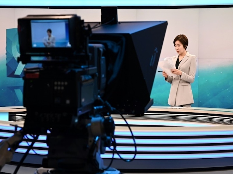 The audience share for Lee's programme — the most-watched news broadcast in the country — has risen from 9.6 to 11 percent since she started in November