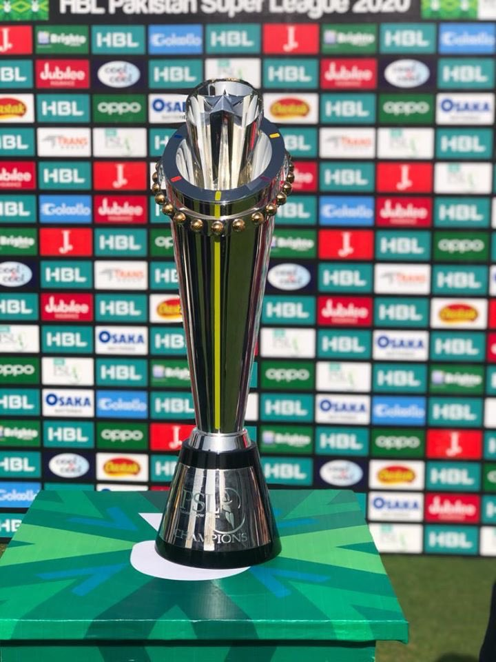 The PSL 2020 trophy. — Courtesy PCB