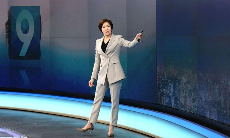 مرد معاشرے کو چیلنج کرتی جنوبی کوریا کی واحد خاتون اینکر