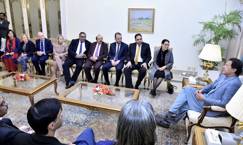 مسئلہ کشمیر کے منصفانہ حل سے ہی جنوبی ایشیا میں امن یقینی بنایا جاسکتا ہے،وزیر اعظم