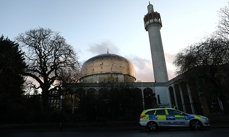 A general view of the London Central Mosque in London, Britain, February 20. — Reuters