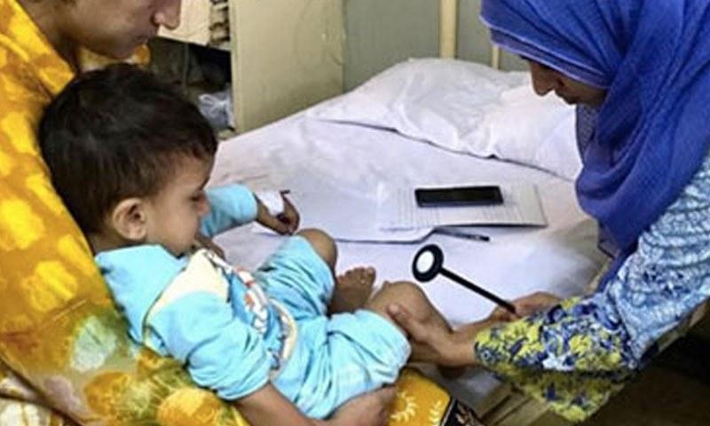 نمونوں سے تصدیق ہوگئی کہ دونوں بچے پولیو وائرس کا شکار ہوئے ہیں — فائل فوٹو: انسداد پولیو ویب سائٹ
