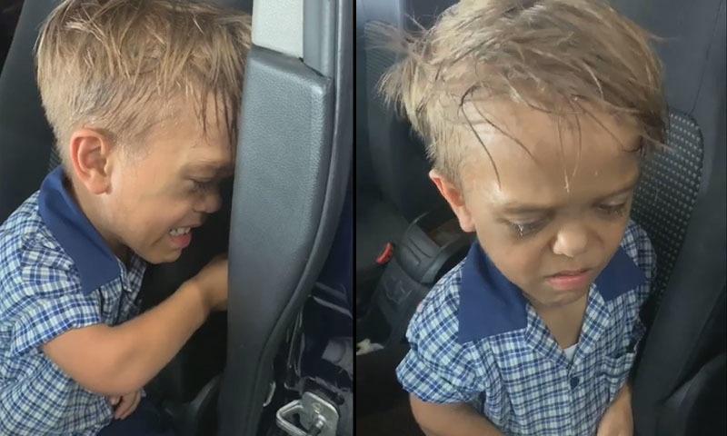 پست قد پر مذاق کا نشانہ بننے والے 9 سالہ بچے کو دنیا کی سپورٹ مل گئی