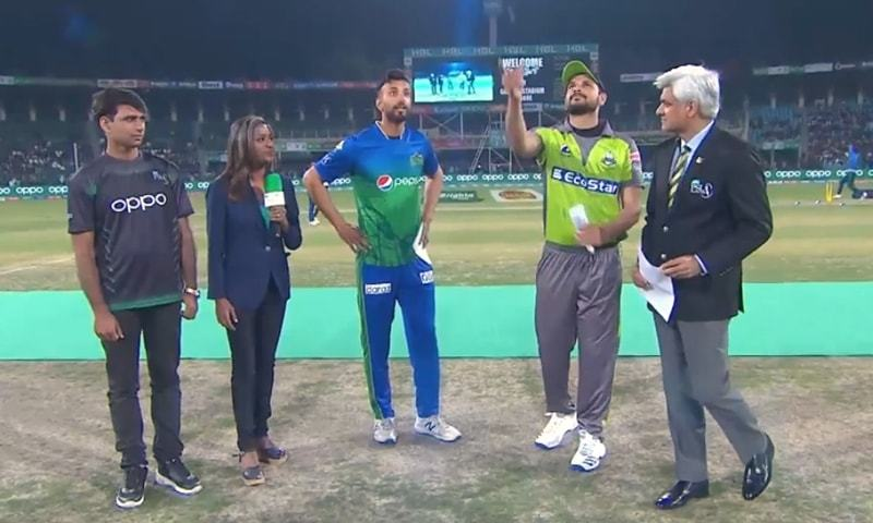 Lahore Qalandars will be sent to bat first after Multan Sultans won the toss and chose to field. — DawnNewsTV