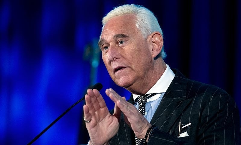 Roger Stone was convicted in November of lying to Congress, tampering with a witness, obstructing House investigation. —  AP/File