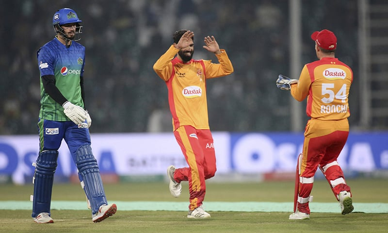 Islamabad United cruise to 8-wicket victory over Multan Sultans in PSL 2020 clash