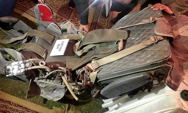نمائش ایئر ہیڈ کوارٹرز اسلام آباد میں ہوئی — فوٹو: نوید صدیقی