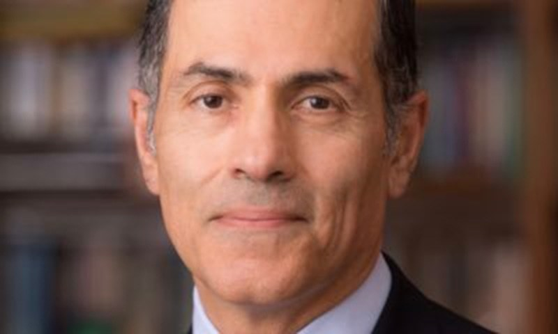 Leading foreign policy expert from the United States Prof Vali Nasr on Monday urged Pakistani policymakers to have close coordination with Iran on the  Afghan issue, stressing that no political solution was possible without Iran.  — Photo courtesy Twitter/File
