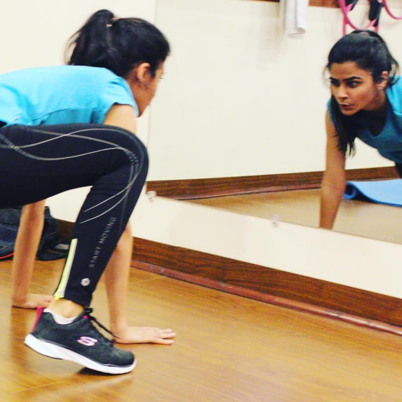 Stretching makes you more aware of your dominant side. —Photo credits: Maliha Naeem of Shred and Sculpt