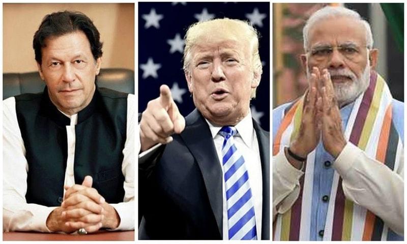 بھارت: ٹرمپ نے پھر مسئلہ کشمیر پر ثالثی کی پیشکش کردی