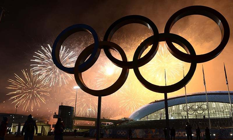 Longest serving IOC member Dick Pound says there are risks facing the Olympics. — AFP/File