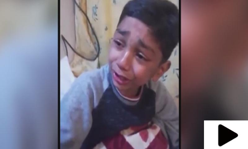 لاہور قلندرز کی شکست پر ننھے مداح کی رونے کی ویڈیو سوشل میڈیا پر وائرل
