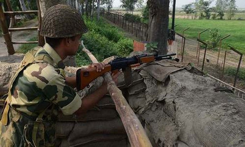 بھارتی فوج کی بلااشتعال فائرنگ سے 40سالہ پاکستانی شہری زخمی ہو گیا تھا— فائل فوٹو: ڈان