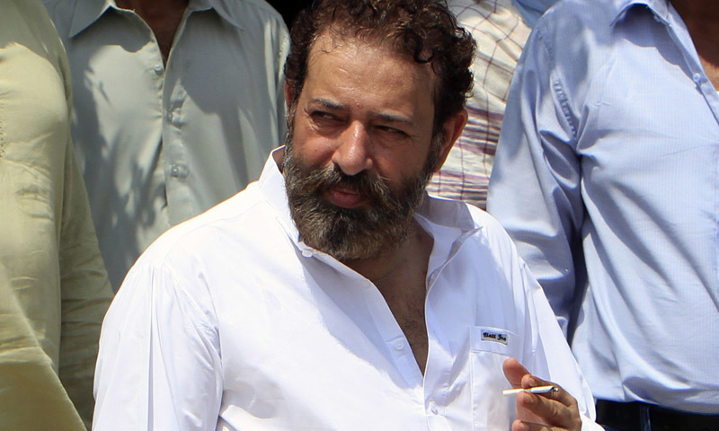 Former SP Chaudhry Aslam was killed in a suicide bombing in Karachi in Jan 2014. — File