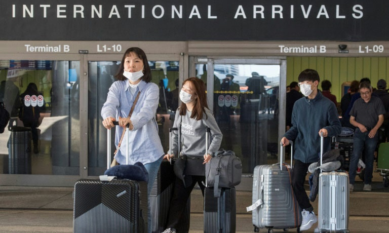 Foreign nationals traveling from China are currently banned from entering the US and more countries, including South Korea and Italy could also be added to the list. — AFP