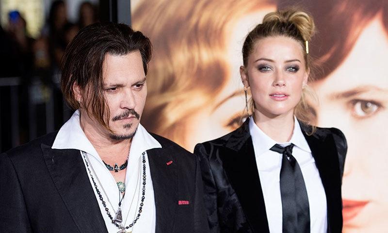 جونی ڈیپ نے سابق اہلیہ اداکارہ امبر ہرڈ پر بھی مقدمہ دائر کر رکھا ہے—فائل فوٹو: اے ایف پی