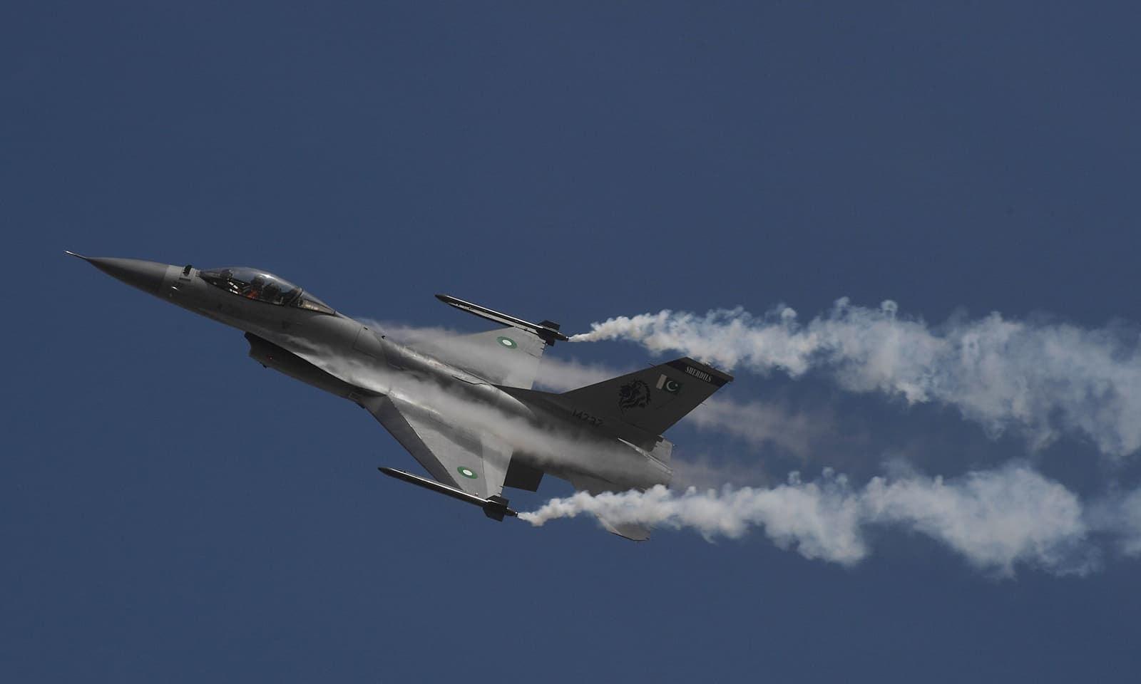 بھارتی طیاروں نے 27 فروری 2019 کو پاکستانی فضائی حدود کی پہلی مرتبہ خلاف ورزی نہیں کی—فوٹو: اے ایف پی