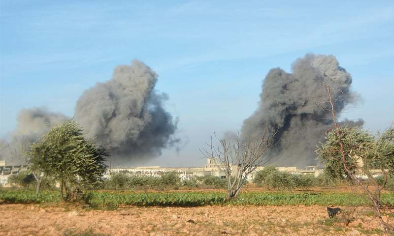 Syrian warplanes also launched renewed air strikes on Thursday on residential areas of Idlib city. — AFP/File
