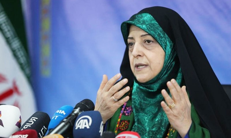 وزیر صحت کے بعد ایرانی نائب صدر بھی کورونا وائرس کا شکار