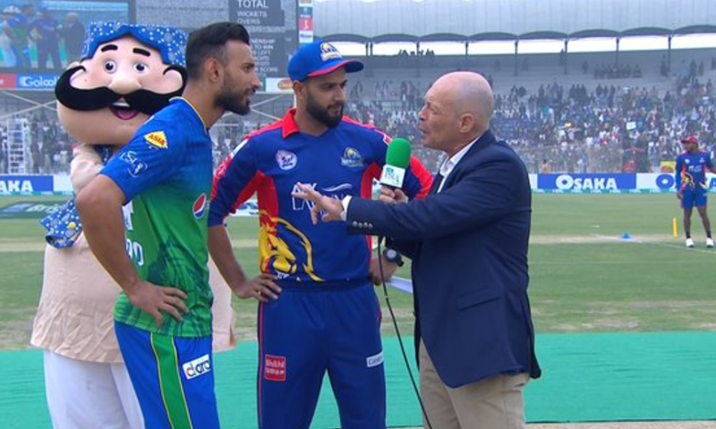 Karachi Kings on Friday won the toss and opted to field first in their Pakistan Super League 2020 clash against Multan Sultans at Multan Cricket Stadium.  — Photo courtesy Radio Pakistan