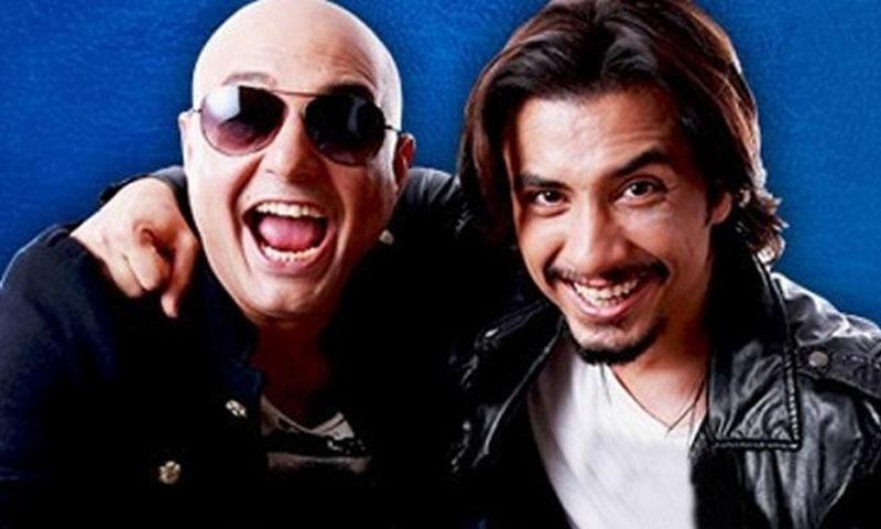 'علی ظفر کے پی ایس ایل گانے کے لیے ڈانس اسٹیپس بھیجوں گا'