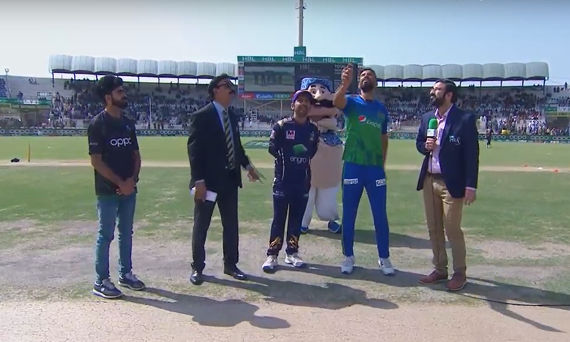 Multan Sultans won the toss and elected to bat first in their Pakistan Super League 2020 fixture on Friday. — DawnNewsTV