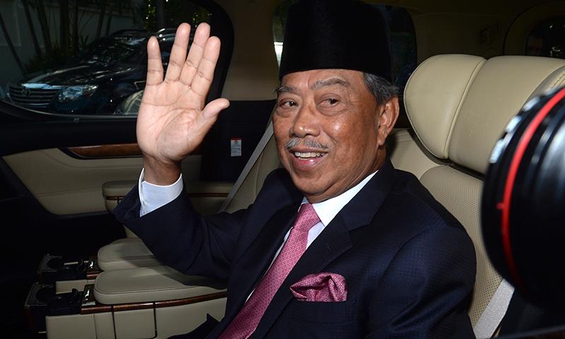 محی الدین یاسین مارچ 2020 میں ملائیشیا کے وزیر اعظم بنے تھے—فائل فوٹو: اے پی