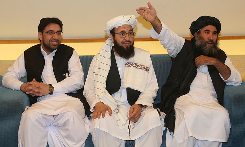 امن معاہدے سے قبل طالبان جنگجوؤں کو حملوں سے روک دیا گیا