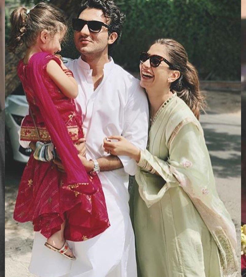 سائرہ اور شہزور کو ایک بیٹی بھی ہے—فوٹو: فیس بک