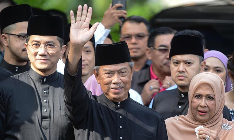 ملائیشیا کے نئے وزیر اعظم محی الدین یاسین نے حلف اٹھا لیا