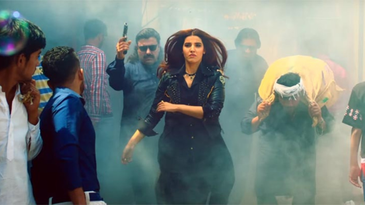 Hareem in a still from Parchi.