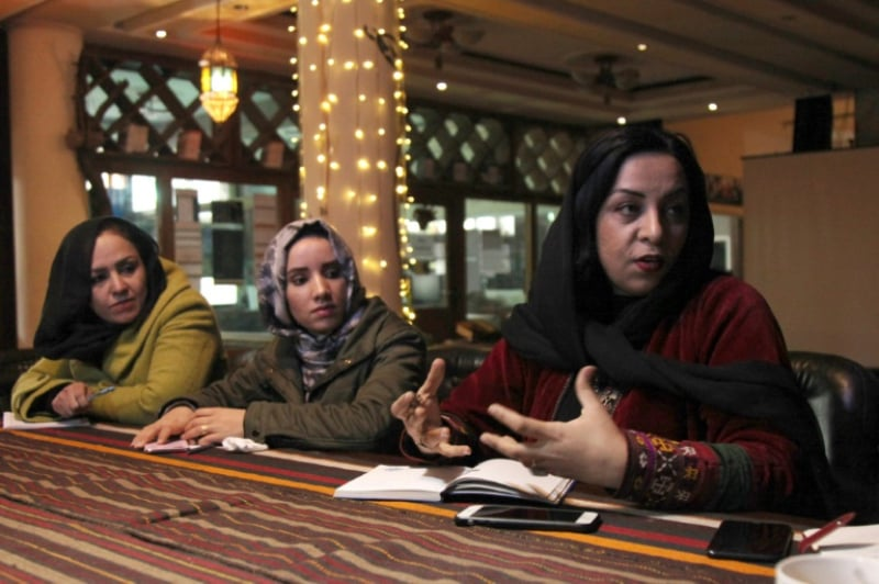 AFP / Mariam ALIMI__ Afghan film producer and director Roya Sadat has been writing stories, poems and plays since she was a little girl, and recalls how her life ground to a halt in 1996 as the Taliban rolled in